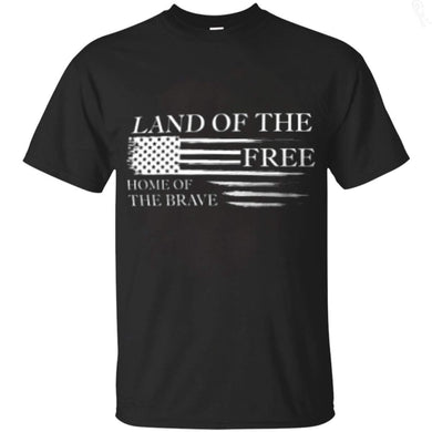 Land of the Free Home of the Brave Tee