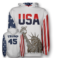 Load image into Gallery viewer, Trump #45 Hoodie