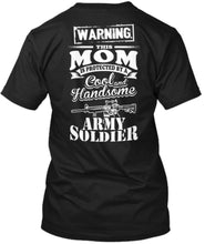 Load image into Gallery viewer, Warning Soldier Mom Tee