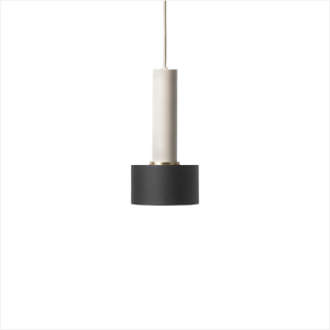 Socket Pendant High + Disc Shade