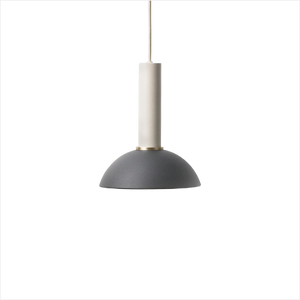 Socket Pendant High + Hoop Shade