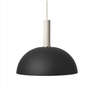 Socket Pendant High + Dome Shade