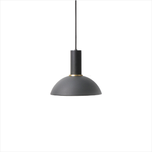 Socket Pendant Low + Hoop Shade