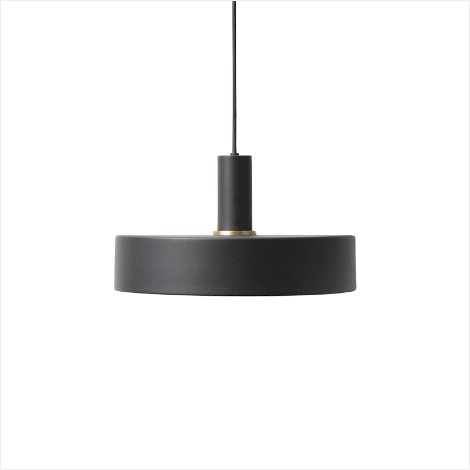 Socket Pendant Low + Record Shade