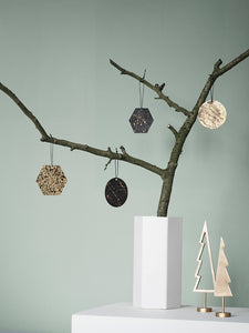 Patina Brass Ornaments by fermLIVING