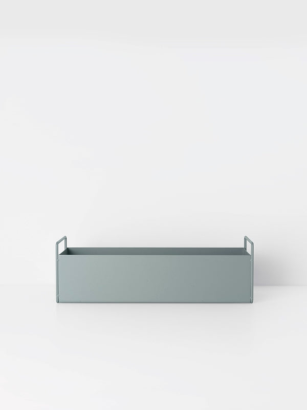 Plant Box Dusty Blue - Small by fermLIVING