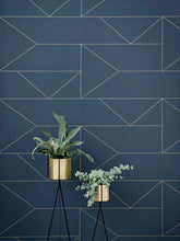 Load image into Gallery viewer, Brass Hexagon Pot - Large by fermLIVING