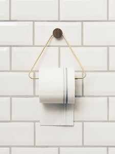 Toilet Paper Holder - Brass by  fermLIVING