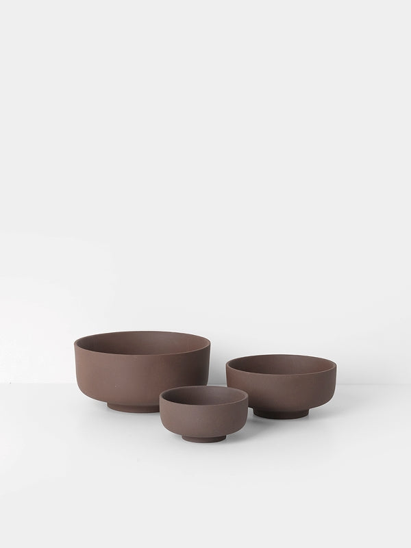 Sekki Bowls (set of 3) - Rust by fermLIVING
