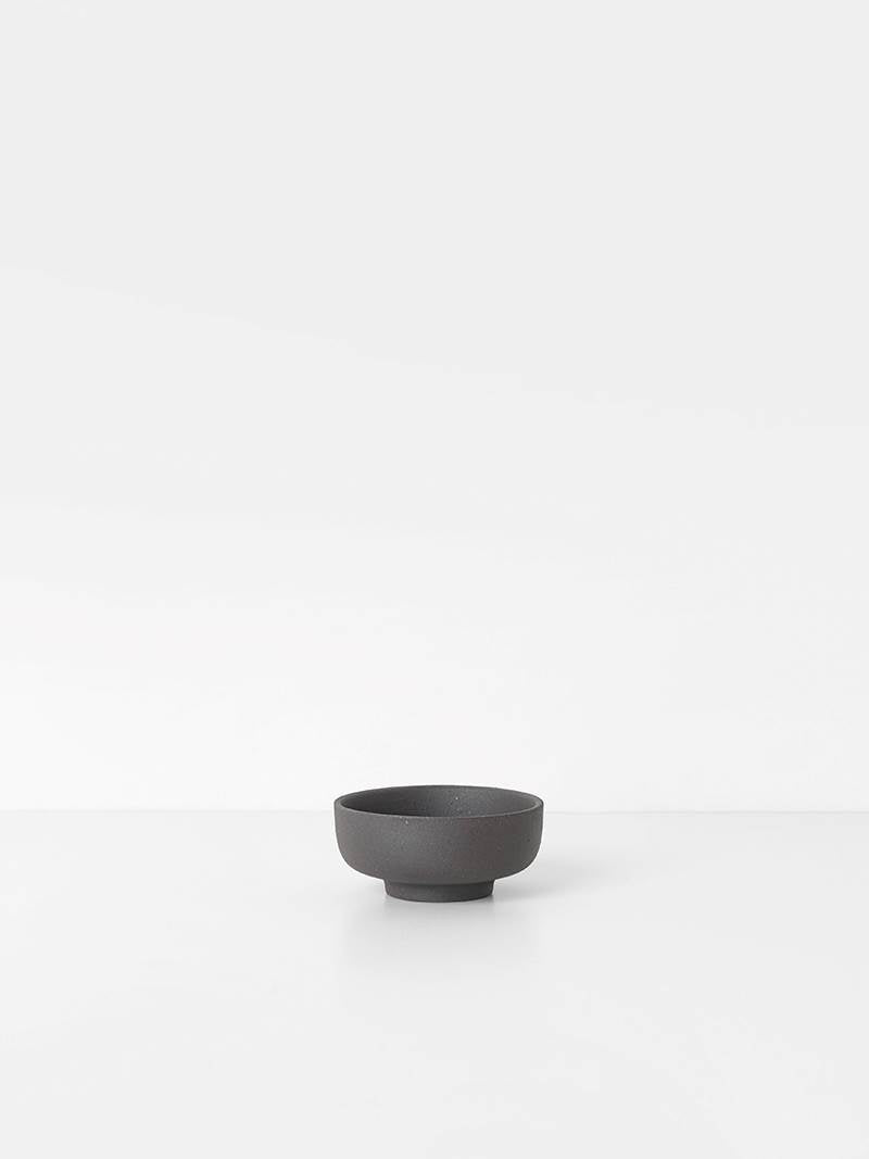 Sekki Salt Jar - Charcoal by fermLIVING