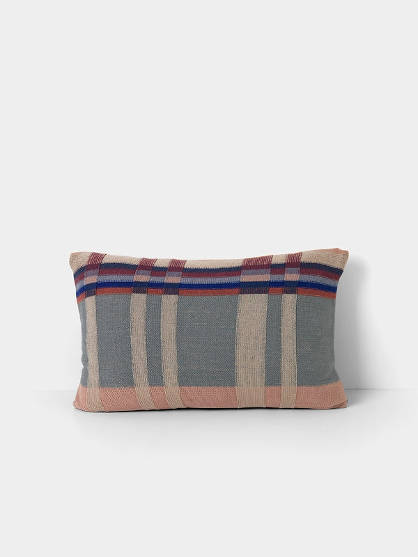 Medley Knit Cushion - Dusty Blue - Large by fermLIVING