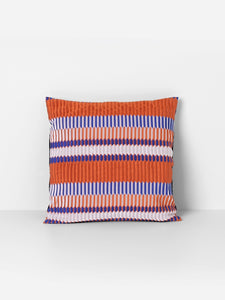 Salon Cushion - Pleat - Rust by fermLIVING