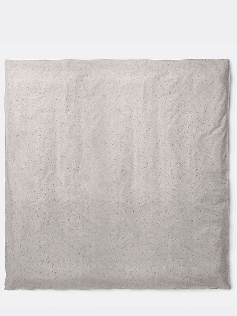 Hush Duvet Cover - Milkyway Cream 220 x 220 by fermLIVING