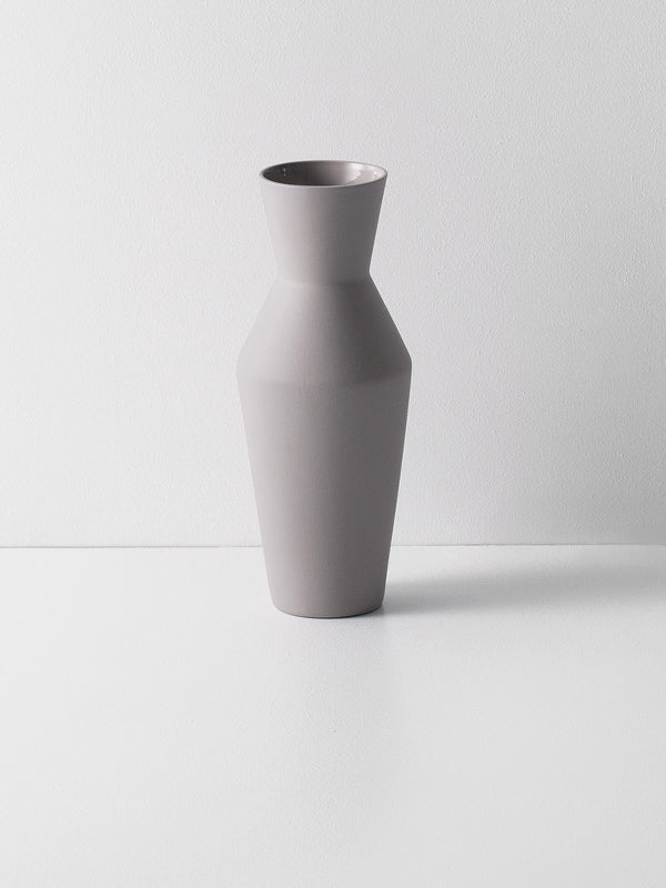 Sculpt Vase Corset - Grey by fermLIVING