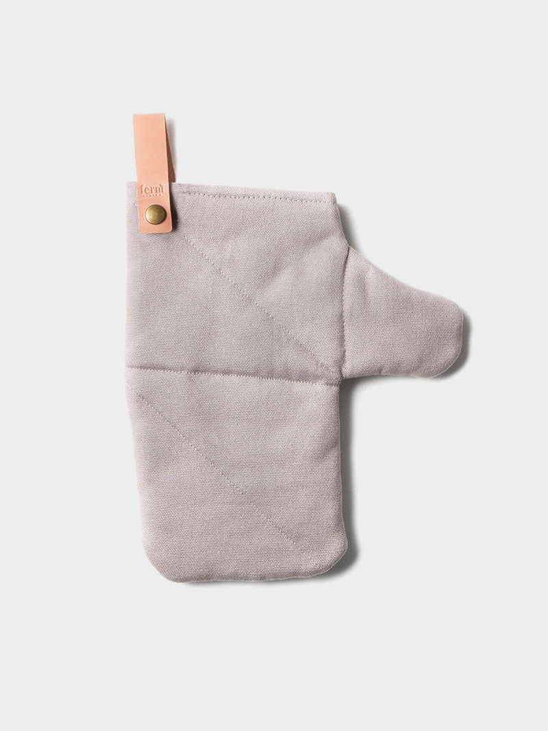 Canvas Oven Mitt - grey by fermLIVING