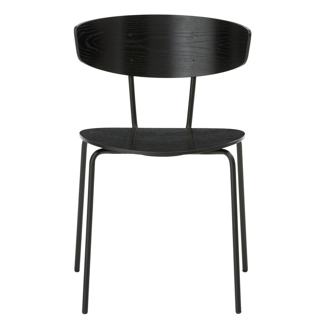 Black Herman Chair by fermLIVING