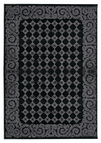 Pilar Rug - Black by Vallila