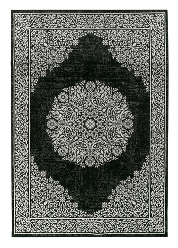 Ella Rug - Black by Vallila