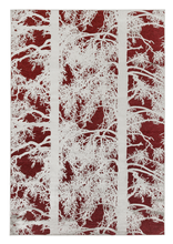 Load image into Gallery viewer, Kelohonka Effect Rug - Red by Vallila