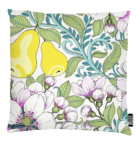 Perry Cushion Cover - Yellow by Vallila