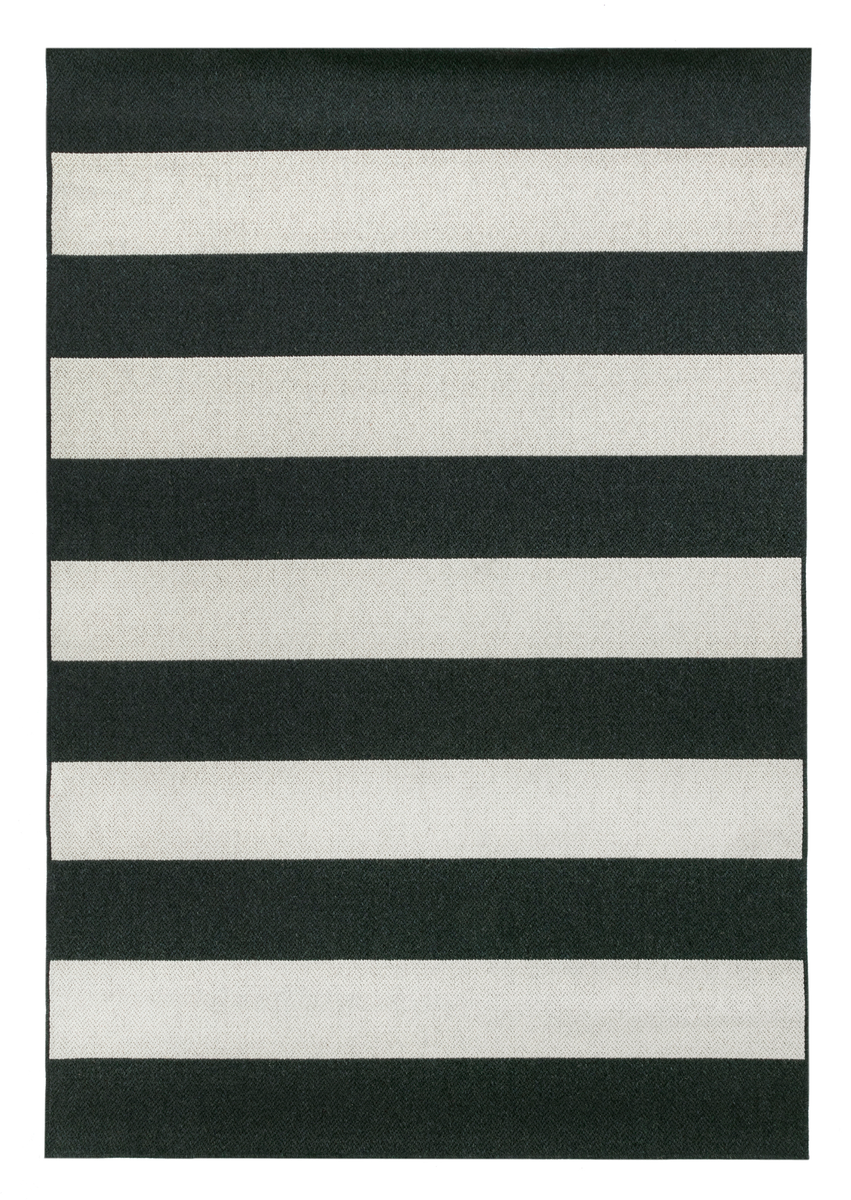 Raita Wool Rug - B&W by Vallila