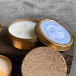 4 oz Molehill Mountain Travel Tin Candle | 100% Natural Soy Wax