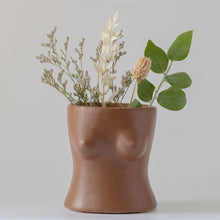 Body Vase - Top (Walnut Brown)