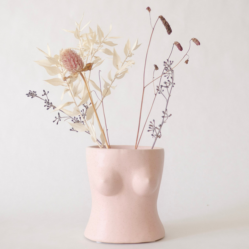 Body Vase - Top (Blush Pink)