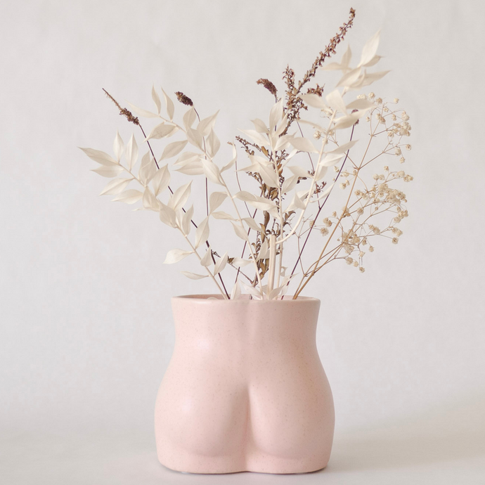 Body Vase - Bottom (Blush Pink)