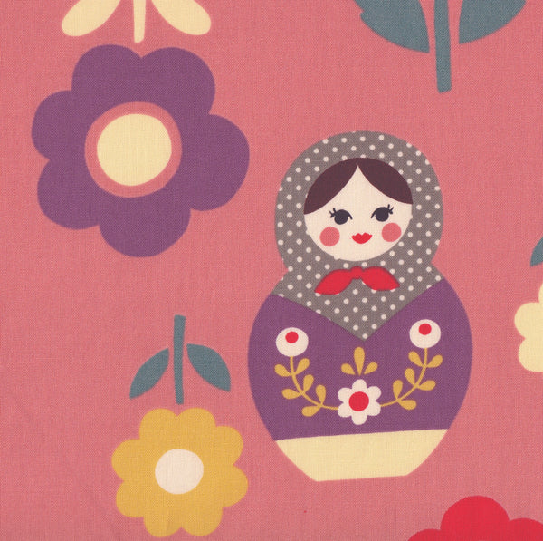 Russian Dolls and Flowers