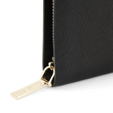 THE DION PEBBLED GOLD WALLET