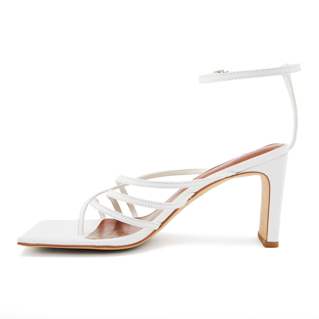 THE AYLA WHITE HEEL