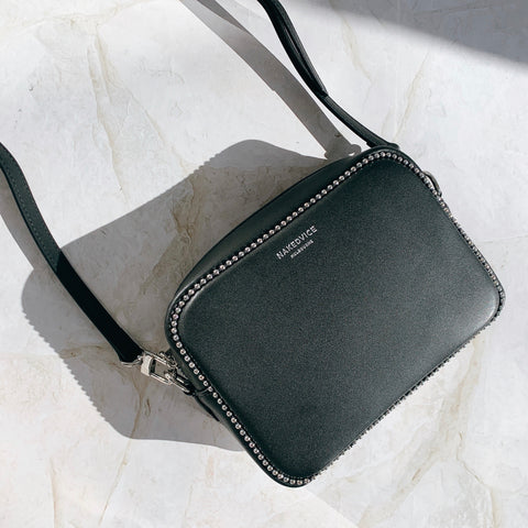 THE 1995 STUD SILVER SIDE BAG