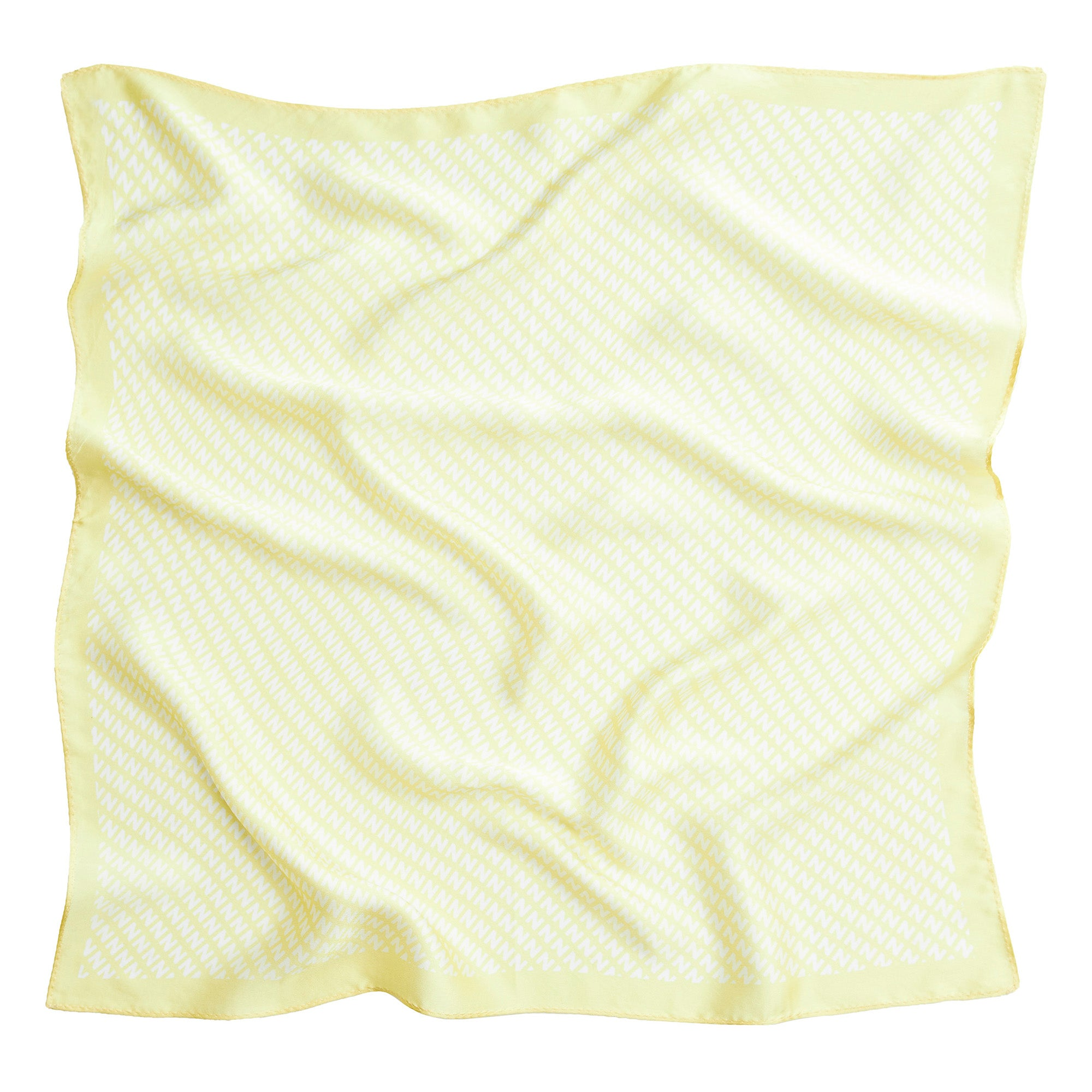 THE NV SILK SCARF LEMON