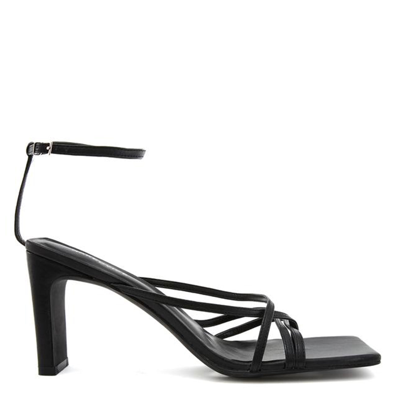 THE AYLA BLACK HEEL
