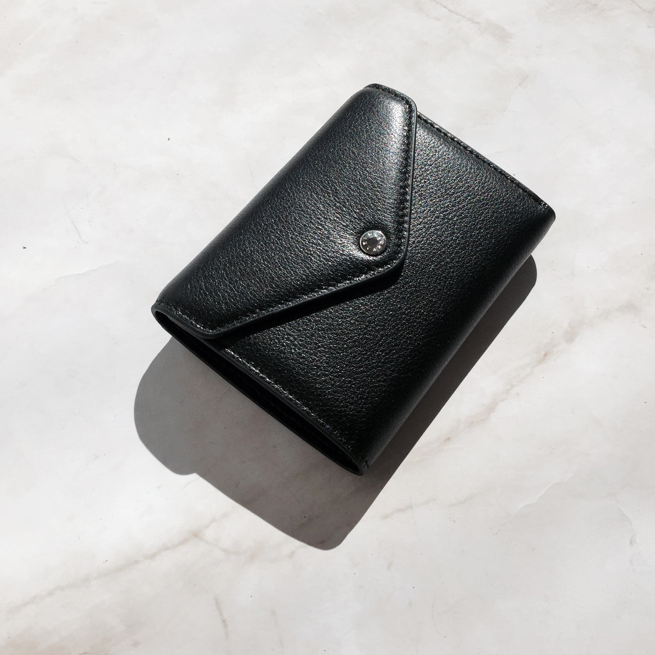 THE ACE PEBBLED WALLET