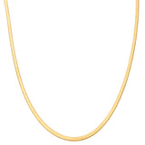THE MAYA SNAKE CHAIN GOLD NECKLACE