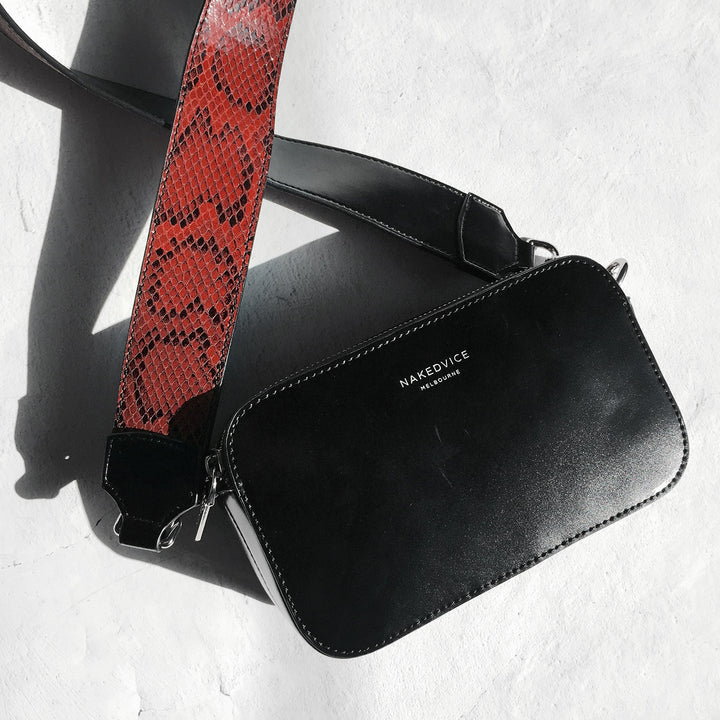 THE MET SNAKE SIDE BAG
