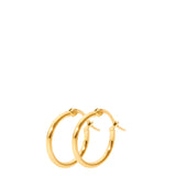 THE HANNY SMALL HOOP GOLD