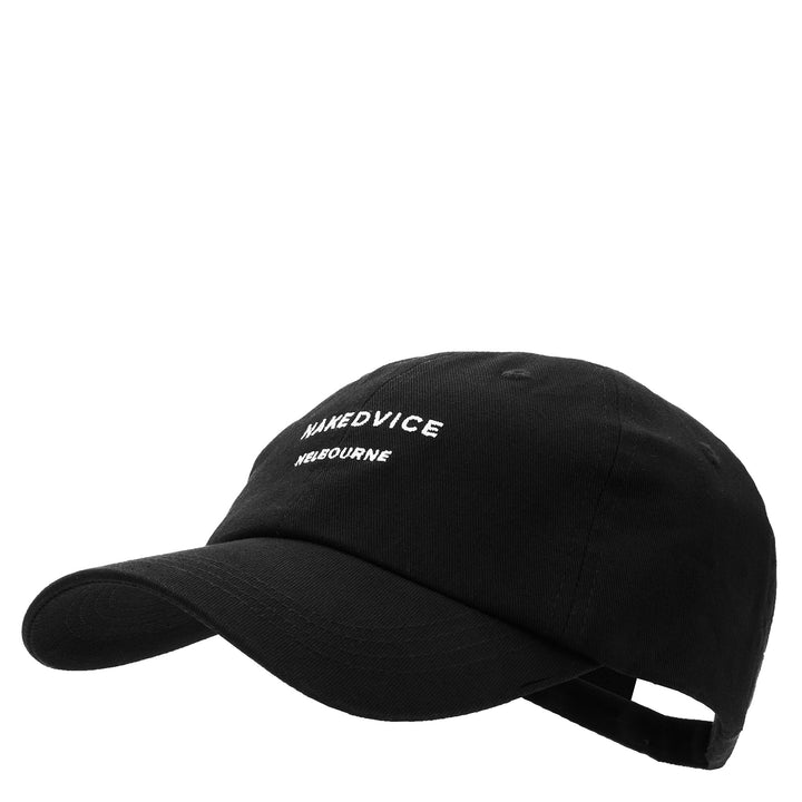 THE NAKEDVICE CAP BLACK