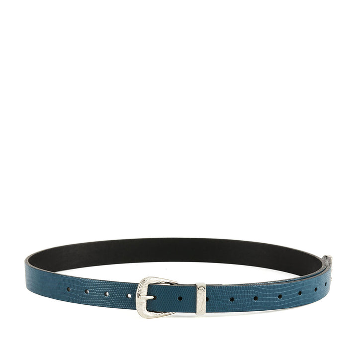 THE FREIDA TEAL BELT