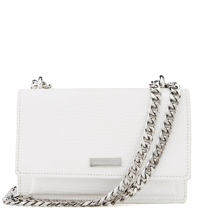 THE REGIS WHITE SIDE BAG