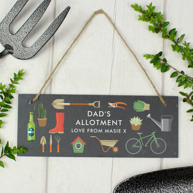 Personalised Slate Garden Sign