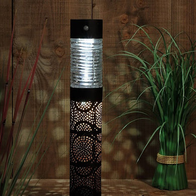 Moroccan Style Global Solar Bollard Light