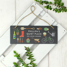 Load image into Gallery viewer, Personalised Slate Garden Sign