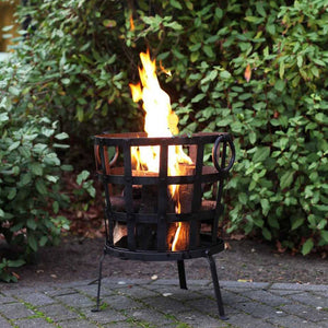 Reclaimed Metal Fire Basket