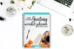 Greeting Words & Phrases for Cards & Notes