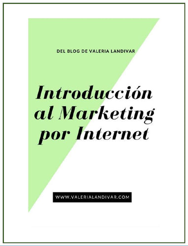 Libro Digital : Introducción al Marketing por Internet.