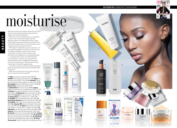 Cos Beauty Magazine Feature