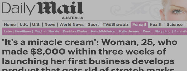 Daily Mail: It's a miracle cream